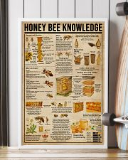 Honey Bee Knowledge Society Life 16x24 Poster lifestyle-poster-4