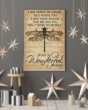 Music Sheet And I Think Dragonfly 16x24 Poster lifestyle-holiday-poster-1