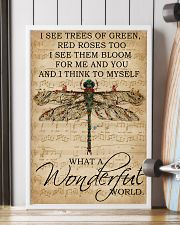 Music Sheet And I Think Dragonfly 16x24 Poster lifestyle-poster-4