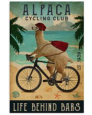 Cycling Club Alpaca 11x17 Poster front