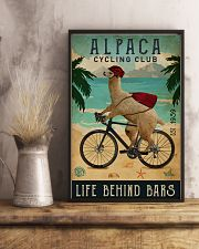 Cycling Club Alpaca 11x17 Poster lifestyle-poster-3