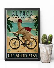 Cycling Club Alpaca 11x17 Poster lifestyle-poster-8