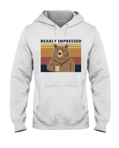 Bearly Impressed Bear Retro Navy