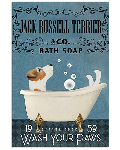 Bath Soap Company Jack Russell Terrier