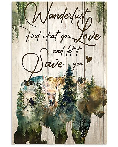 Bear Wanderlust Find What You Love