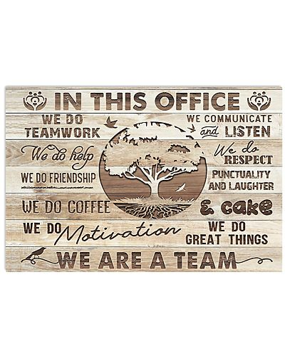 In This Office Wood Style Social Work