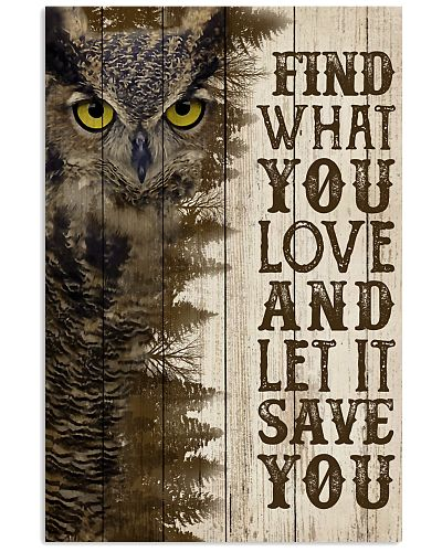 Pallet Half Forest Wanderlust Owl