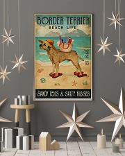 Beach Life Sandy Toes Border Terrier 11x17 Poster lifestyle-holiday-poster-1