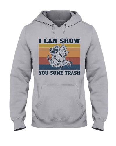 Show You Some Trash Raccoon Retro Navy