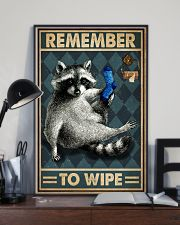 Raccoon Remember To Wipe 16x24 Poster lifestyle-poster-2