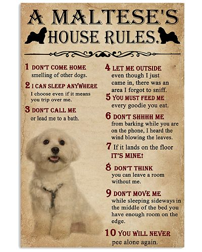 A Maltese's House Rules