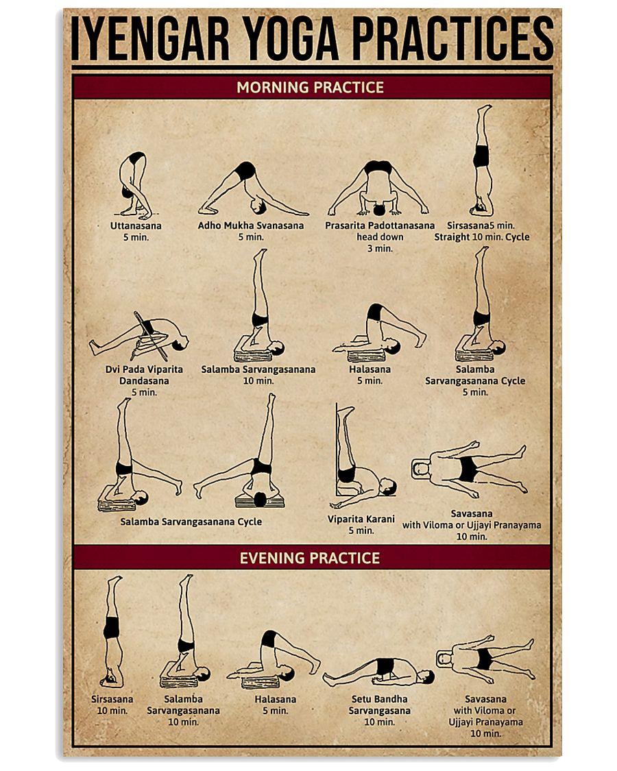 Iyengar Yoga Practices 11x17 Poster