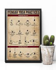 Iyengar Yoga Practices 11x17 Poster lifestyle-poster-8