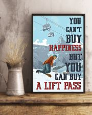 Snowboarding You Can Buy A Lift Pass 16x24 Poster lifestyle-poster-3