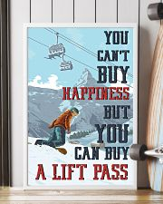 Snowboarding You Can Buy A Lift Pass 16x24 Poster lifestyle-poster-4