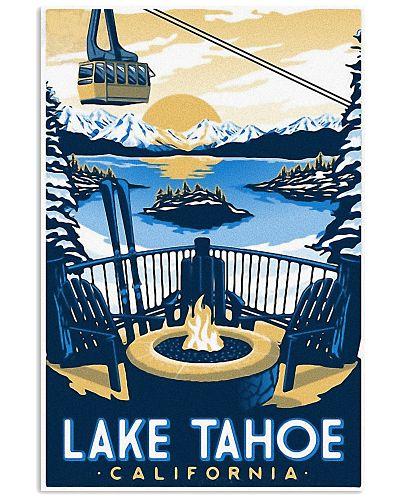 Vintage Travel Lake Tahoe