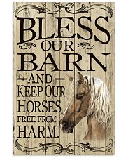 Bless Our Barn Horse 11x17 Poster front