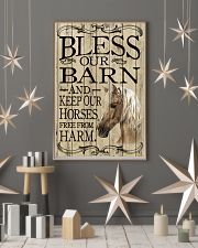Bless Our Barn Horse 11x17 Poster lifestyle-holiday-poster-1
