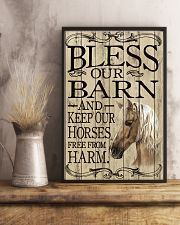 Bless Our Barn Horse 11x17 Poster lifestyle-poster-3