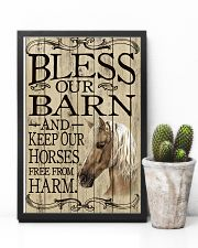 Bless Our Barn Horse 11x17 Poster lifestyle-poster-8