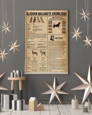 Alaskan Malamute Knowledge 11x17 Poster lifestyle-holiday-poster-1