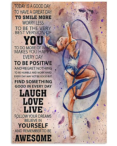 Gymnastics Today Is A Good Day