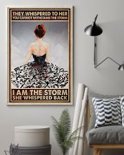 I Am The Storm Ballet Dancer 16x24 Poster lifestyle-poster-1