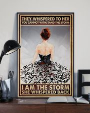 I Am The Storm Ballet Dancer 16x24 Poster lifestyle-poster-2