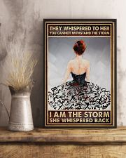 I Am The Storm Ballet Dancer 16x24 Poster lifestyle-poster-3