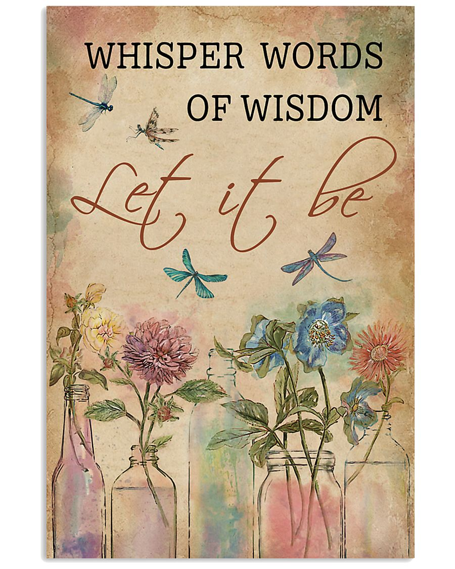 Dragonfly Whisper Words Of Wisdom 11x17 Poster