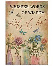 Dragonfly Whisper Words Of Wisdom 11x17 Poster front