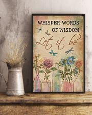 Dragonfly Whisper Words Of Wisdom 11x17 Poster lifestyle-poster-3