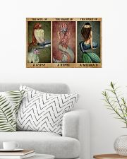 The Spirit Of A Mermaid 24x16 Poster poster-landscape-24x16-lifestyle-01