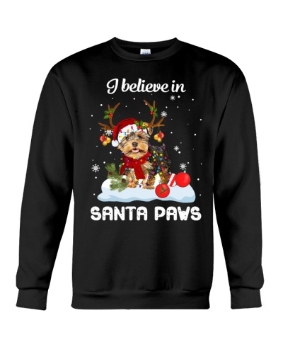 I Believe In Santa Paws Yorkshire Terrier