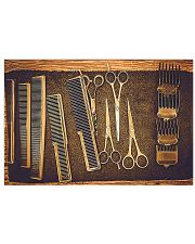 Hairstylist Vintage Tools 17x11 Poster front