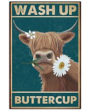 Cattle Wash Up Buttercup  16x24 Poster front