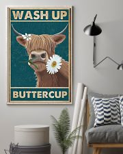 Cattle Wash Up Buttercup  16x24 Poster lifestyle-poster-1