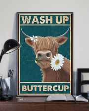 Cattle Wash Up Buttercup  16x24 Poster lifestyle-poster-2