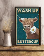 Cattle Wash Up Buttercup  16x24 Poster lifestyle-poster-3