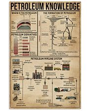 Petroleum Knowledge 11x17 Poster front