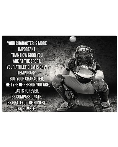 Baseball Your Character Is More Important