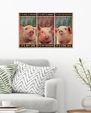 Pig It's Not A Phase 24x16 Poster poster-landscape-24x16-lifestyle-01