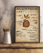 Simple Question Of Weight Ratios 11x17 Poster lifestyle-poster-3