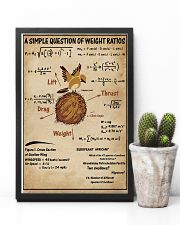 Simple Question Of Weight Ratios 11x17 Poster lifestyle-poster-8