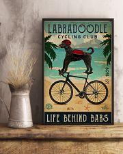 Cycling Club Labradoodle 11x17 Poster lifestyle-poster-3