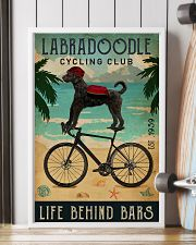 Cycling Club Labradoodle 11x17 Poster lifestyle-poster-4