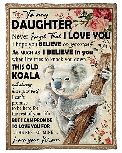 Koala Mom To Daughter Never Forget
