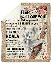 "Koala Mom To Daughter Never Forget Sherpa Fleece Blanket - 50"" x 60"" thumbnail"