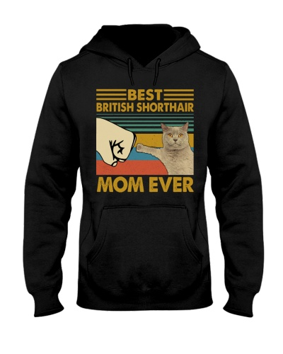 Retro Blue Best British Shorthair Mom Ever