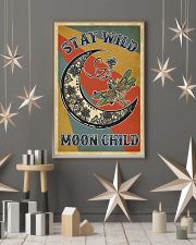 Retro Stay Wild Moon Child Dragonfly 11x17 Poster lifestyle-holiday-poster-1